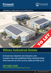 Hilsea industrial units brochure