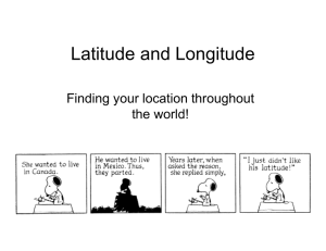 Latitude and Longitude - Kettering City School District