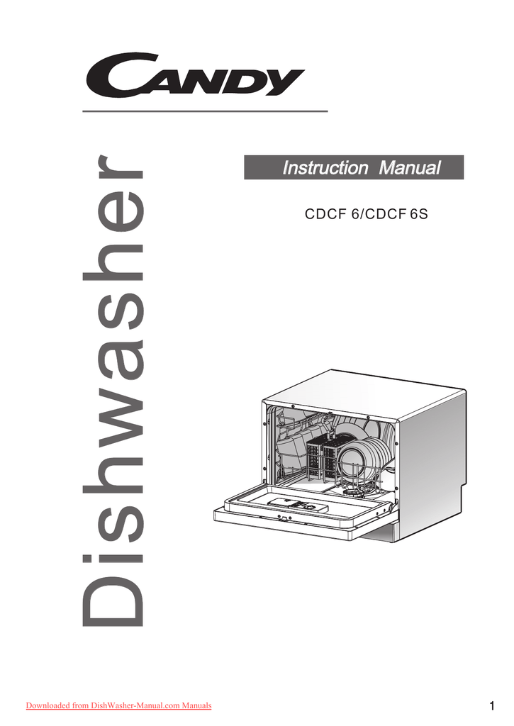 Dishwasher Instruction Manual Daily Instruction Manual Guides