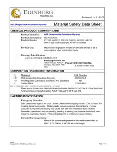 MSDS - ABS General Purpose