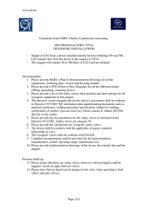 Page 1(2) Comments from CERN`s Safety Commission concerning