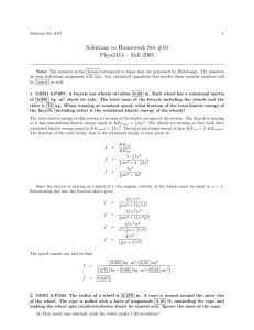 Solutions to Homework Set #10 Phys2414 – Fall 2005