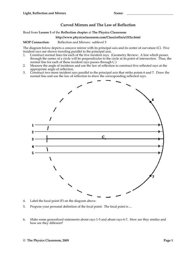 Light and reflection lesson (physics KS3) by PurplePotassium ...