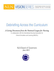 Debriefing Across the Curriculum