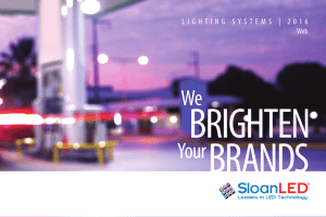 2016 Lighting Systems Brochure - Global