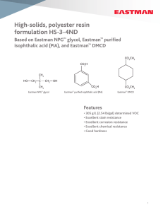 N-308C High-Solids, Polyester Resin Formulation HS-3-4ND