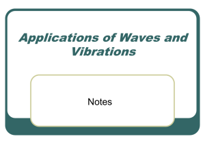 Applications of Waves and Vibrations