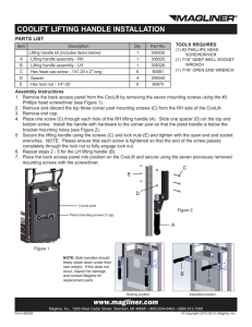 PDF - Lift Assist Handle