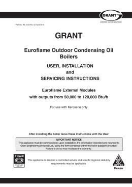 obsolete grant non condensing outdoor module