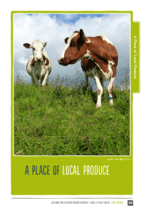 a Place of loCal Produce - Galloway and Southern Ayrshire