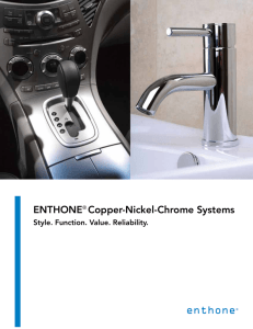 ENTHONE® Copper-Nickel