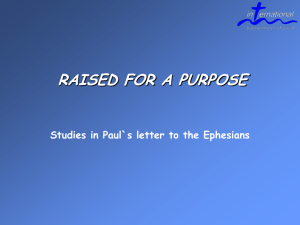 Raised for a Purpose