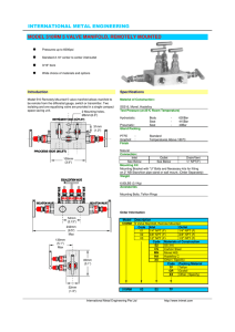 PDF Data Sheet - International Metal Engineering