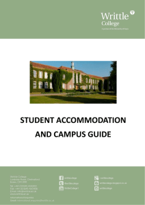 Student Accommodation and Campus Guide