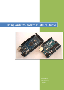 Using Arduino Boards in Atmel Studio