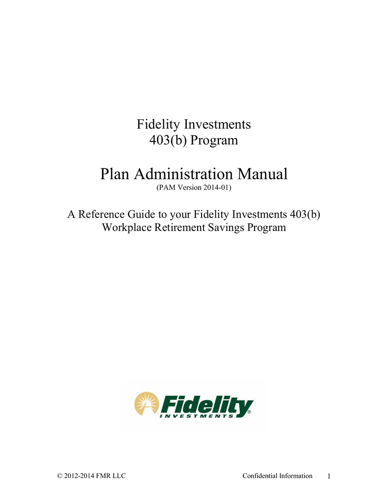Fidelity Investments 403(b)