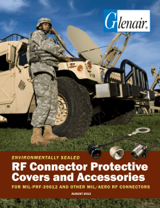 RF Connector Protective Covers and Accessories