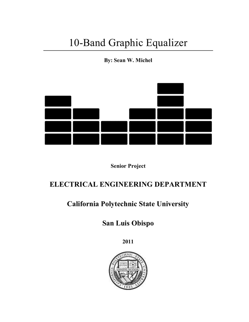 10 Band Graphic Equalizer Schematic Design