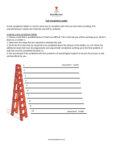 Task Completion Ladder
