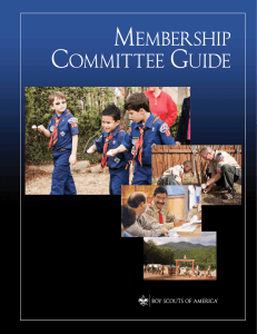 Membership Committee Guide