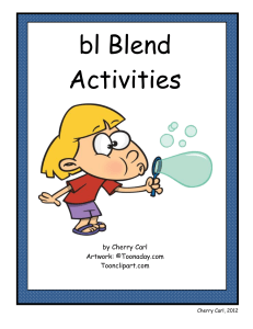 bl Blend Activities