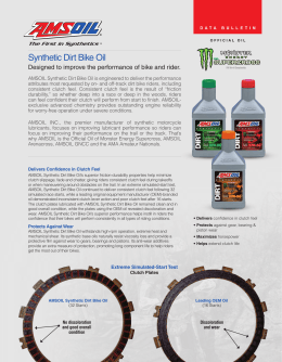 Synthetic Dirt Bike Oil