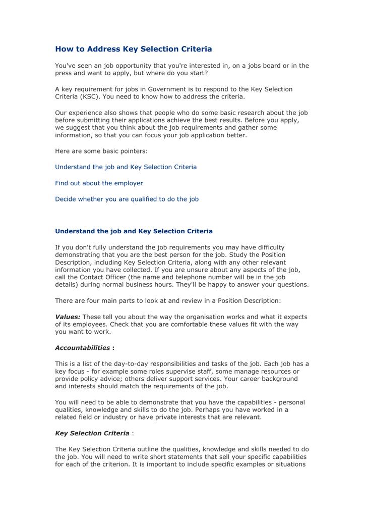 criteria for selecting non profit board members