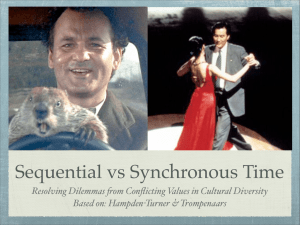Sequential vs Synchronous Time