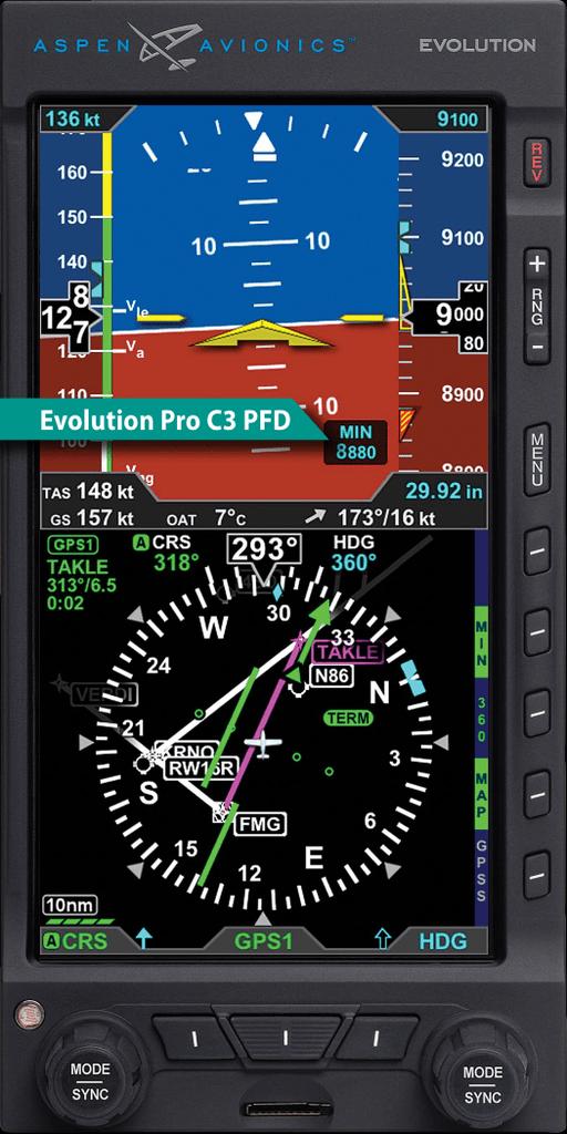 Evolution Pro C3 PFD