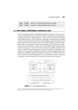 11.4 the serial peripheral interface (spi)