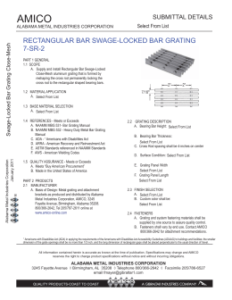 rectangular bar swage-locked bar grating 7-sr-2