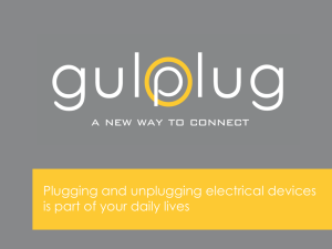 Plugging and unplugging electrical devices is part of your daily lives