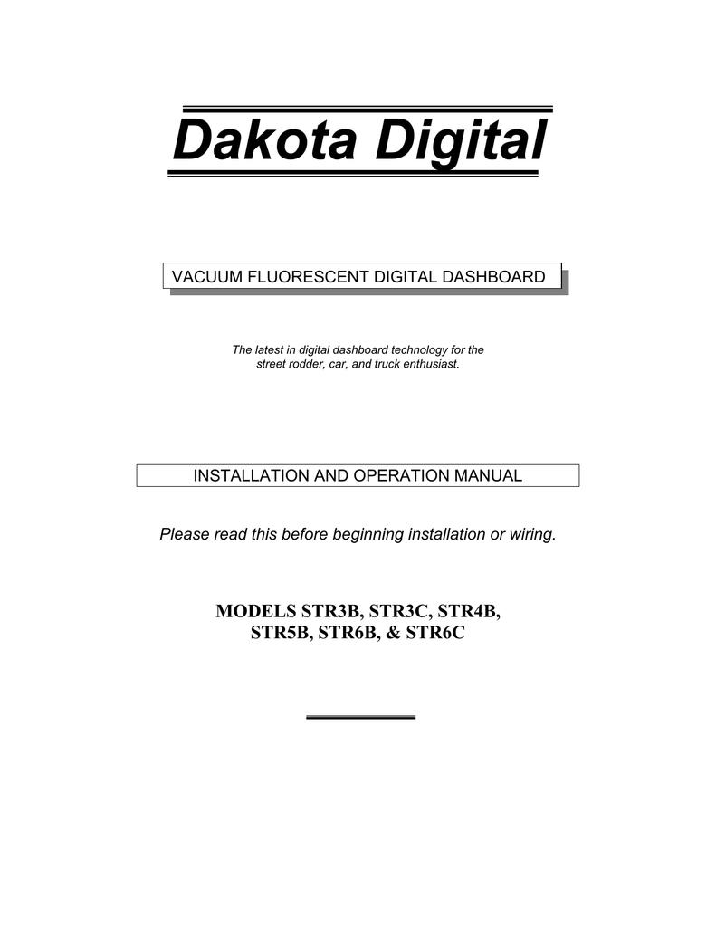 Dakota Digital Speedo Wiring Diagram | Wiring Liry on