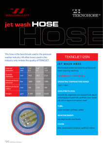 jet wash HOSE - Weldalloy Hydraulic Hose and Fittings