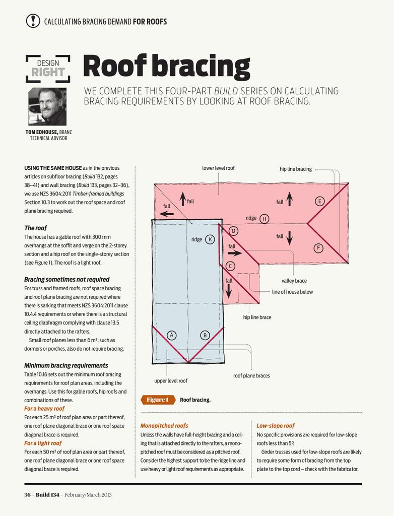 Roof Bracing