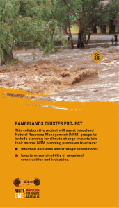 rangelands cluster project