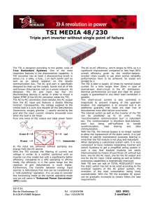 TSI-Media-48-230-Inverter Data Sheet-Version-02
