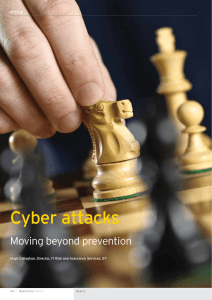 Cyber attacks: Moving beyond prevention