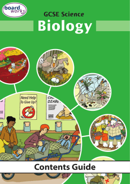 Biology - Boardworks