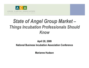 The State of Angel Investing
