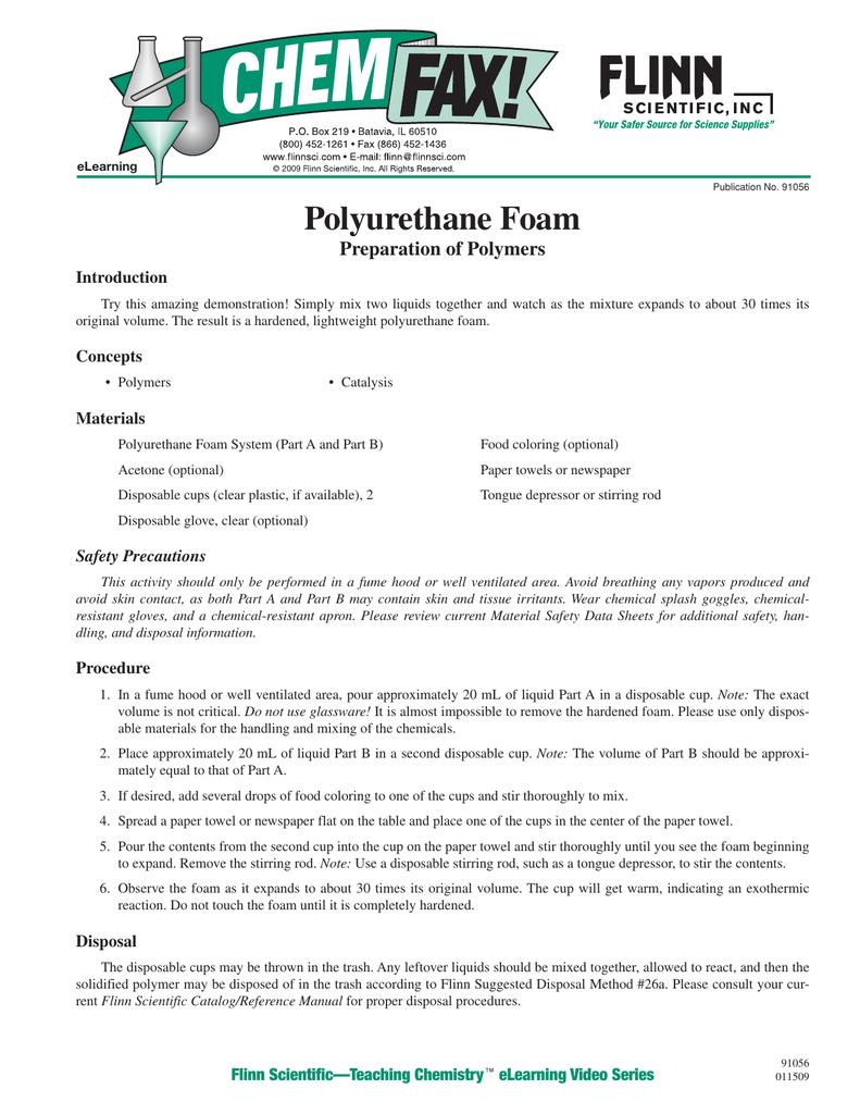 91056 Polyurethane Foam