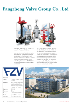 Fangzheng Valve Group Co., Ltd