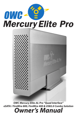 "OWC Mercury Elite-AL Pro ""Quad Interface"""