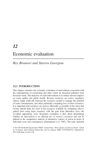 12 Economic evaluation - World Health Organization