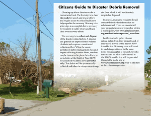 Citizens Guide to Disaster Debris Removal