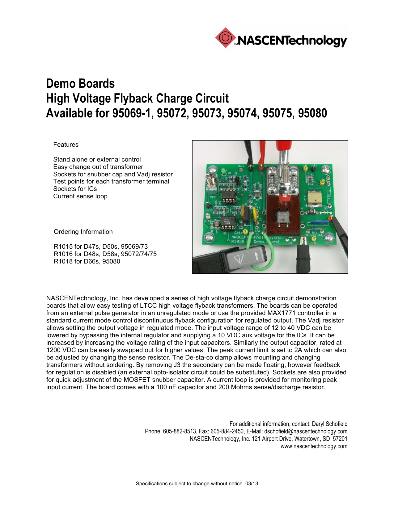 High Voltage Demo Boards Current Sensing For Application Schematic