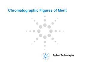 Chromatographic Figures of Merit