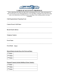 Large-Scale Event Proposal Form