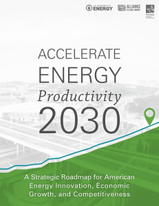 Productivity - Accelerate Energy Productivity 2030