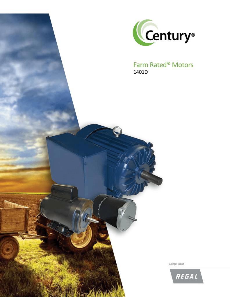 Farm Rated® Motors - Century Electric Motors on